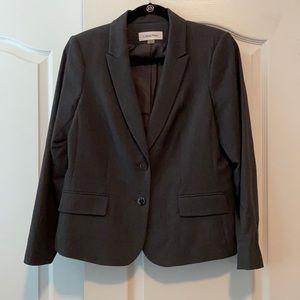 Calvin Klein dark gray pants suit, 2 pcs